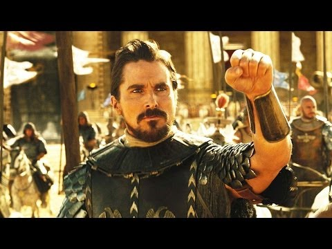 Exodus Gods and Kings Trailer Official - Christian Bale