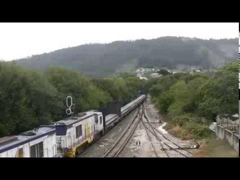 Trenes mercantes de Feve, línea Ferrol Gijón