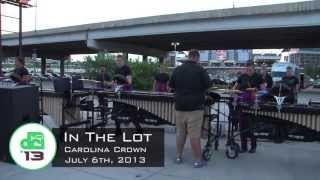 DCI In the Lot: The 2013 Carolina Crown Front Ensemble