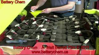 How To Recondition Electric Forklift Batteries SAVE $6,000