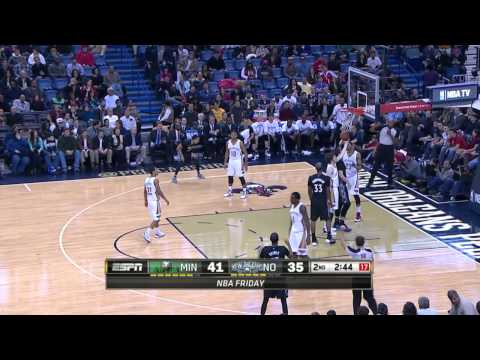 Minnesota Timberwolves vs New Orleans Pelicans | February 7, 2014 | NBA 2013-14 Season