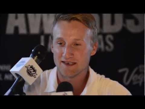 Interview With Steven Stamkos at the 2012 NHL Awards