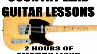 Country Lead Guitar Lessons Scott Grove
