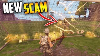 *NEW SCAM* watch out for this... The SOCCER GOAL is BROKEN!!  - Fortnite Save The World