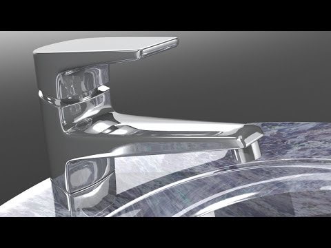 Luxology modo - Modeling a Water Tap
