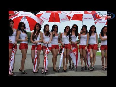 HOT Umbrella Girls Indoprix 2012 Seri-1