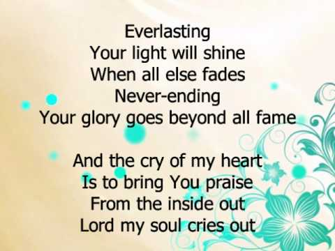 from the inside out hillsong w lyrics youtube