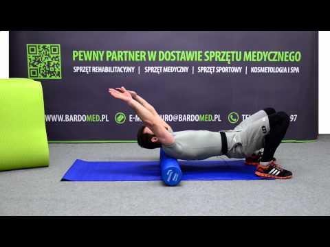 Ćwiczenie wzmacniające mięśnie brzucha