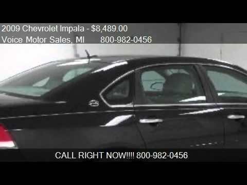 2009 chevrolet impala ltz for Voice motors kalkaska mi
