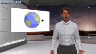 Daniel Tosh trolls Flat Earth on Tosh.0 - ODD Mirror - Mark Sargent ?