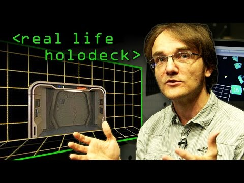 Miniatura del vídeo Real Life Holodeck with an Oculus Rift - Computerphile
