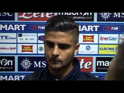 Napoli-Fiorentina 0-1 - Intervista a Insigne (23.03.14)