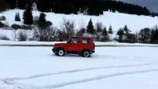 Suzuki Samurai winter