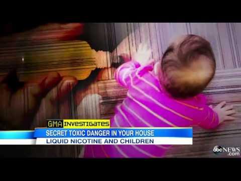 'GMA' Investigates Liquid Nicotine