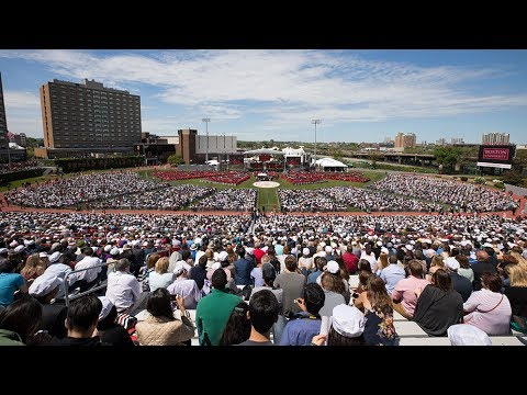 Commencement 2017 Time-lapse