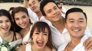 Tin tức Sao Việt_Dàn sao Việt quậy trong hôn lễ Nguyệt Ánh và chồng Ấn Độ