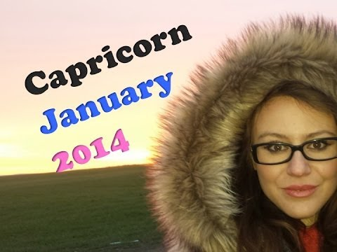 CAPRICORN JANUARY 2014 with astrolada.com