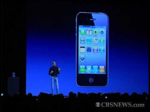 Jobs Unveils iPhone 4