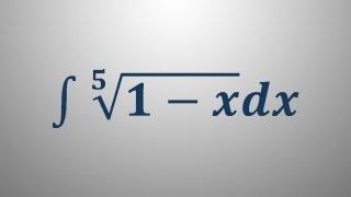 Integral – uvedba nove spremenljivke 4