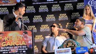 Amir Khan Vs. Danny Garcia Press Conference Highlights