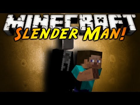 Minecraft Mod Showcase : SLENDER MAN! (Updated!), SLENDER MAN IS BACK!? BUT HE'S MORE TERRIFYING THEN EVER! DEAR GOD SOMEONE CALL CHUCK NORRIS! Download the mod here! tell em Sky sent ya! http://www.minecraf...