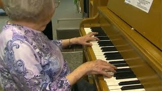 Magic of music: 102-year-old's memory triggered by piano