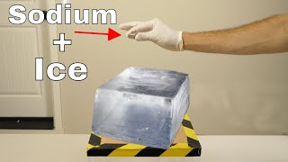 What Happens if You Put Sodium on Ice? Does it Still Explode?
