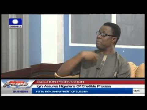 2015 Elections: Igini Assures Of Credible Process