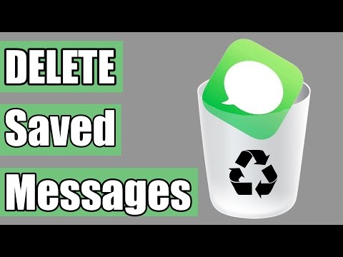 How to Delete saved iMessages on your iPhone