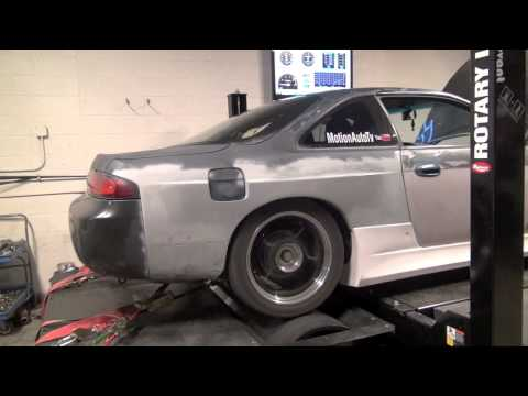 LS1 240sx v8 on the dyno! With numbers!