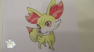 [Tutorial] How To Draw Fennekin From Pokemon X And Pokemon