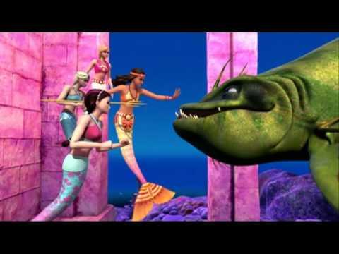 Превращение принцессы Мерилии в русалочку
