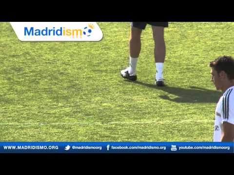Real Madrid First Training with Carlo Ancelotti
