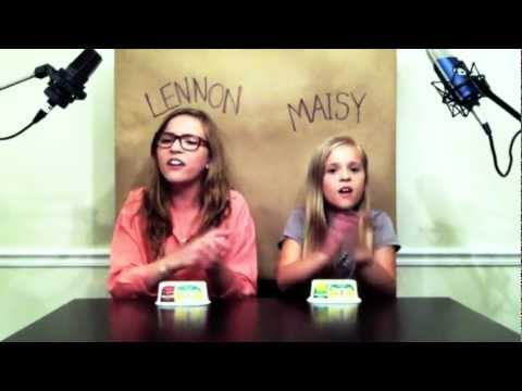 Thumbnail of video 'Call Your Girlfriend' Robyn/ Erato cover by Lennon & Maisy Stella