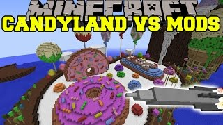 PIGZILLA MOD VS CANDYLAND Minecraft Mods Vs Maps (Pig