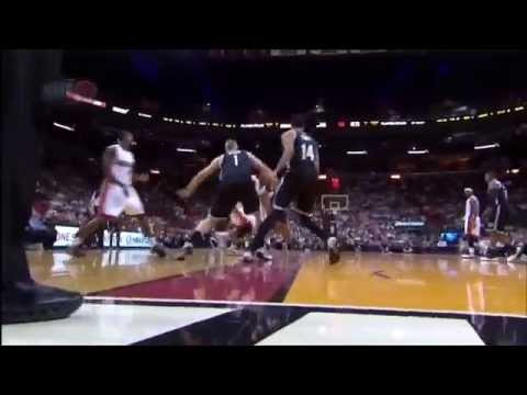 April 08, 2014 - TNT - Game 77 Miami Heat Vs Brooklyn Nets - Loss (53-24)(Heat Highlights)
