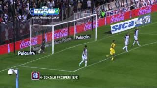Gol de Prósperi (e/c). San Lorenzo 1 - Defensa 2. 8vos de Final. Copa Argentina 2014. FPT