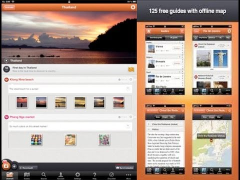 Travel Guide & Journal [iPad] Video review by Stelapps