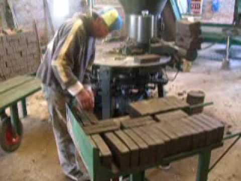 Horno para fabricar ladrillos