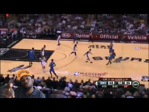 San Antonio Spurs vs Oklahoma City Thunder game 2 Nba Playoffs 2014 West finals reaction