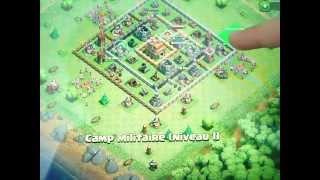 Ville De Clash Of Clan Avec Hotel De Ville (HDV) Niveau 7