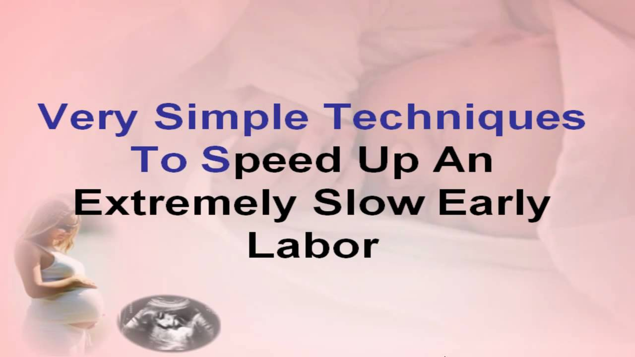 How To Get Labor Moving Naturally