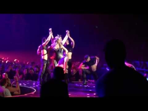 Lance Bass at Britney Spears Las Vegas Show - 12/30/2013