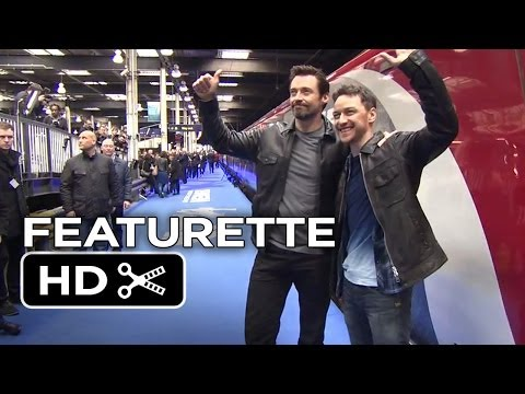 X-Men: Days of Future Past Featurette - UK Trains (2014) - James McAvoy Movie HD