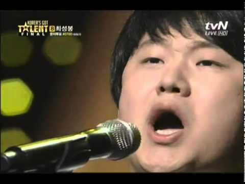 Sung Bong Choi -  Korea's Got Talent - third and final performance