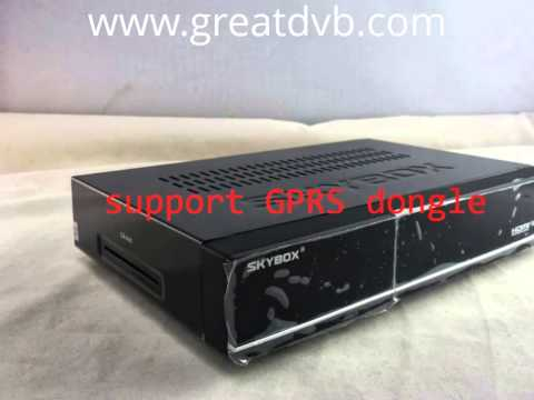 Full hd satellite receiver skybox f3s support GPRS dongle. Загружен 27 июл