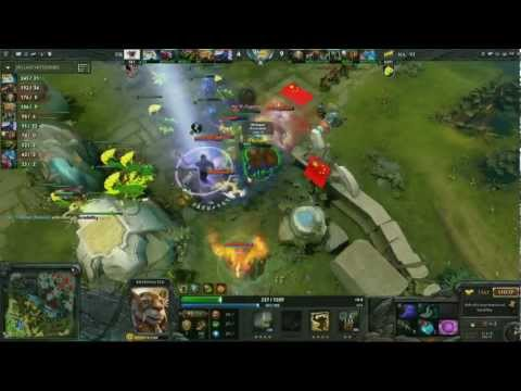 Dota 2 The International 2012 Highlights - Day 1 Top 10 Plays
