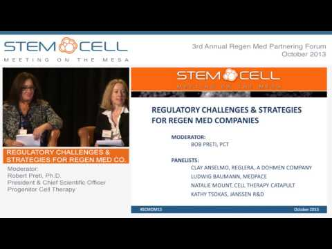 Regulatory Challenges & Strategies for Regen Med Companies