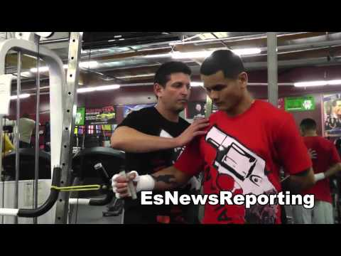 boxing fan drives 25 hours to see maidana in camp EsNews Boxing