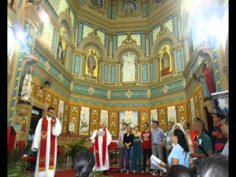 Recordação da Vida da Diocese de Barretos - Missa da Unidade 2011 -parte 2